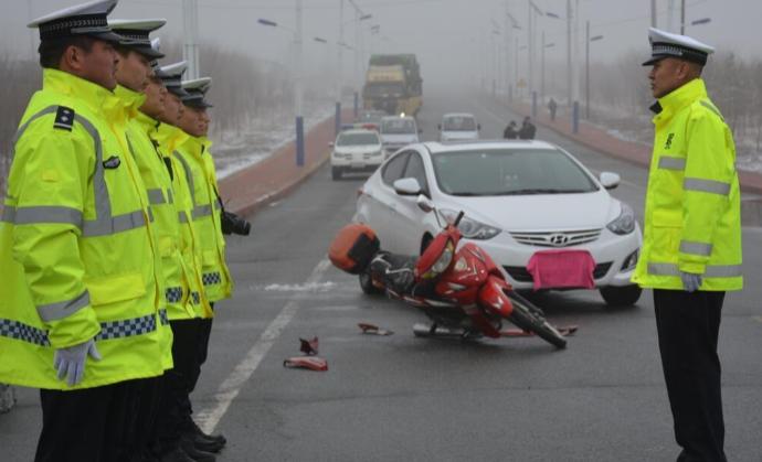 特大交通事故
